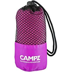 CAMPZ Mikrofaserhandtuch 80x150cm pink